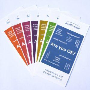 NHS Health in Mind Leaflets