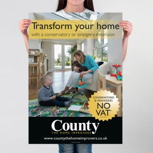County The Home Improvers Poster