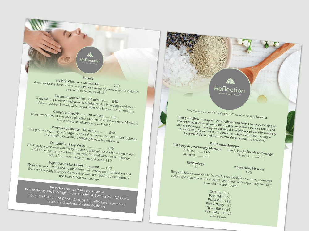 Reflection Holistic Wellbeing